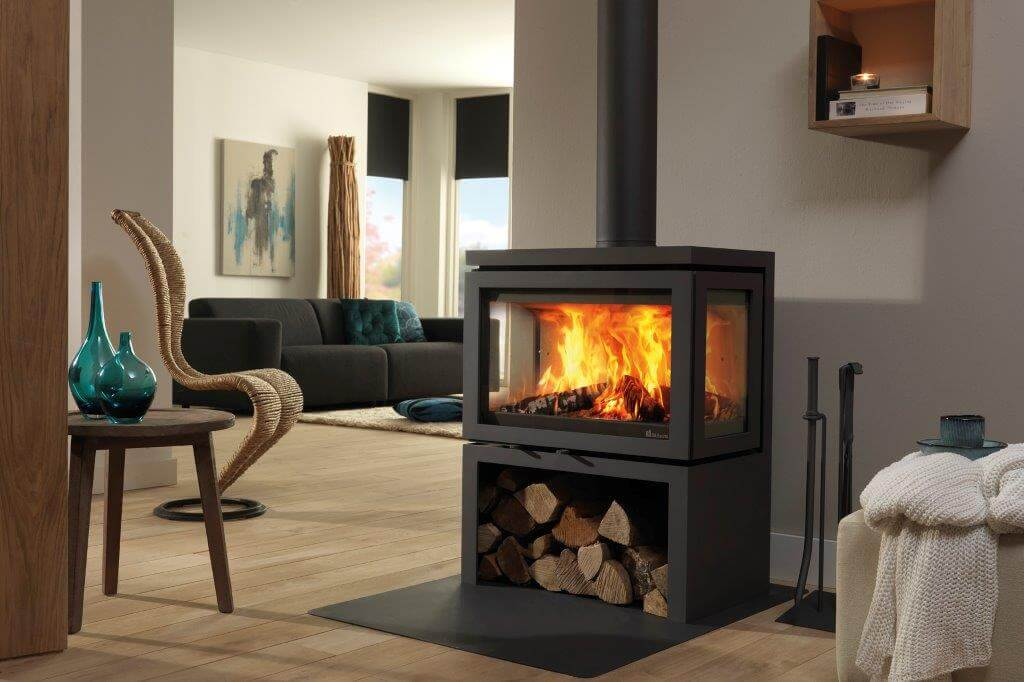 How To Make A Fire - Closed Combustion Stoves - Normal Burning