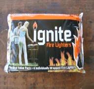 Individually wrapped Paraffin based, similar to Blitz Clean burning.